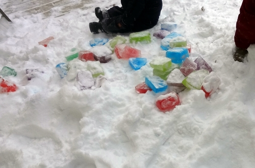 In, Through, On and Under - Outdoor Babies in Snow (3/5)